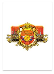 Дизайн герба и наружной рекламы для галереи Liberty