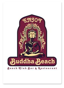 Дизайн логотипа и знака для Buddha Beach