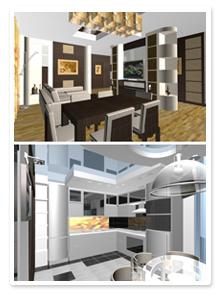 Дизайн проект 4-ех комнатной квартиры в Волгограде