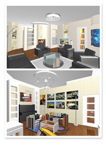 Дизайн-проект 3-ех комнатной квартиры в Волгограде