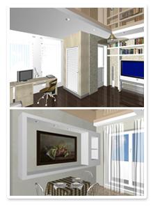 Дизайн-проект 1-но комнатной квартиры в Волгограде