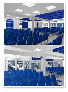 Дизайн-проект интерьера актового зала
