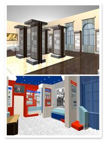 Дизайн-проекты музейных экспозиций