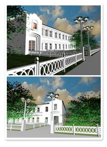Дизайн-проект монастырской школы