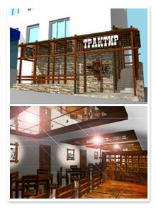 Дизайн-проект пивного бара