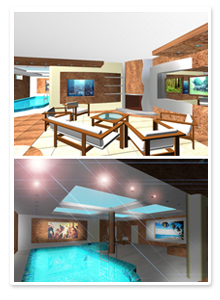 Дизайн-проекты интерьеров бани