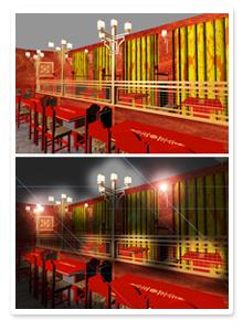 Проект интерьера ресторана_6
