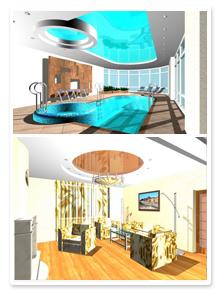 Проект интерьеров частного дома_2